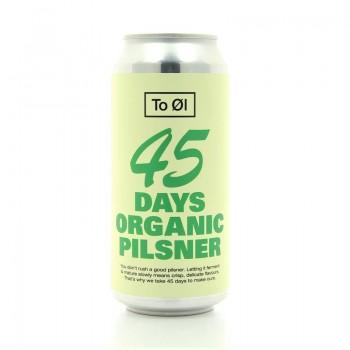 Bière blonde Pilsner 45 Days Organics To OL CITY 44cl