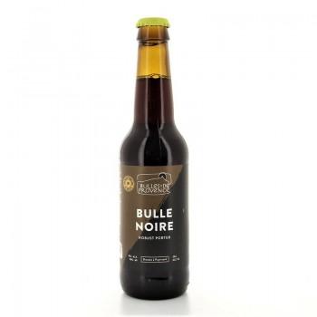 Bière bio Bulle Noire Porter médaille d'or Lyon 2019 Bulles de Provence France 33cl 4%