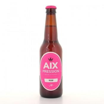 Bière Blonde rosé Aix Pression 33cl