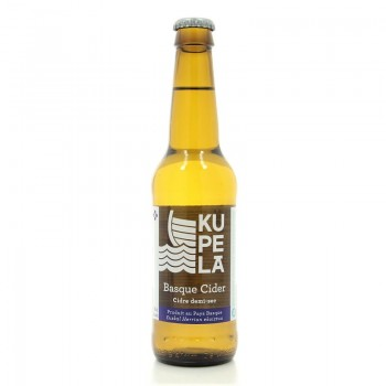 Hard Cider Kupela cidre brut basque 6% 33 cl