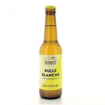 Bière blanche Bio Bulle Blanche microbrasserie Bulles de Provence 33cl