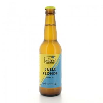 Bière bio Bulle Blonde Médaille d'or Lyon 2019 Bulles de Provence 33cl 5%