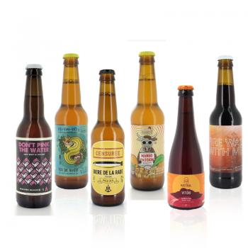 Coffret 6 bières artisanales de Provence