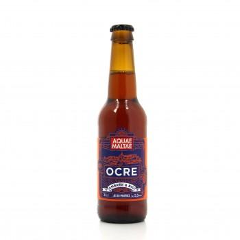 Bière ambrée artisanale bio, Ocre est provençale