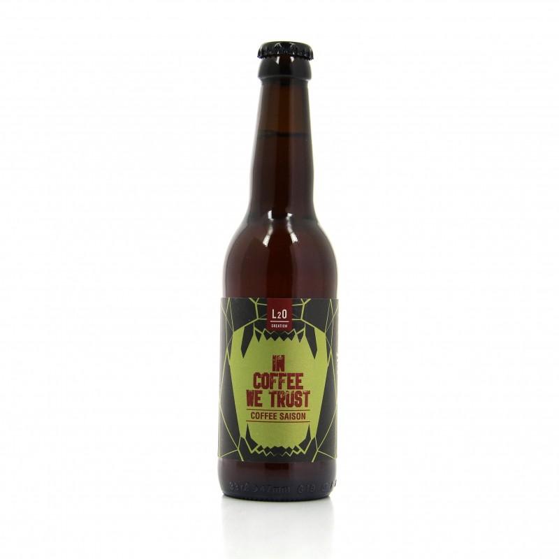 Bière noire Saison - In coffee we trust - Les 2 Ours