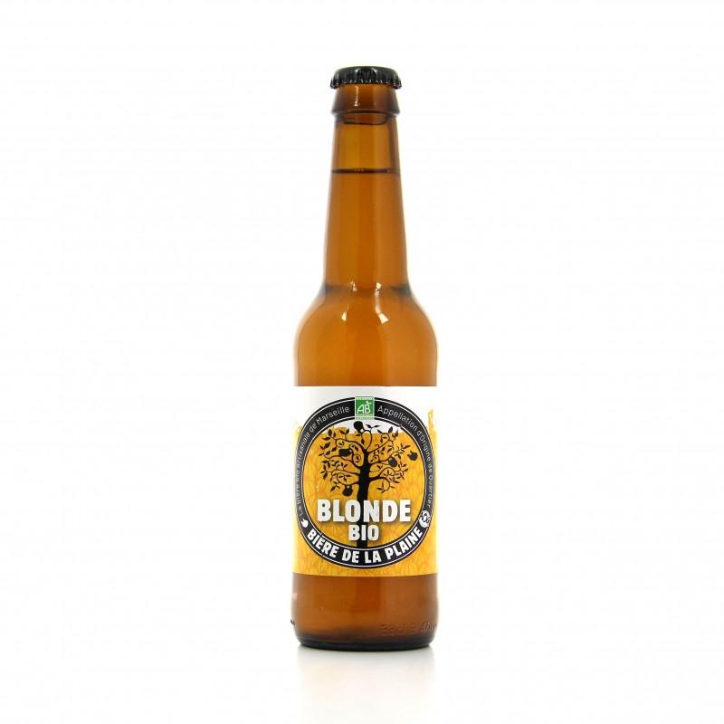 Bière blonde bio - La Plaine