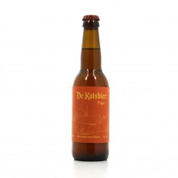 Bière artisanale Tripel - Microbrasserie De Katsbier