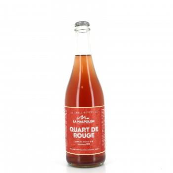 Bière Quart de Rouge - La Malpolon