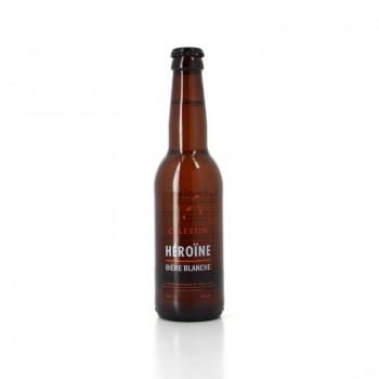 Héroïne, Bière artisanale Blanche, Brasserie Célestin