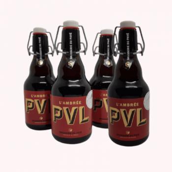 Pack 4 PVL Ambrée