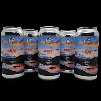 Pack 8 Nothing but the rain - bière sans alcool