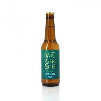 Bière artisanale blonde, Mézingue German Pils de Brasserie aixoise La Baroude