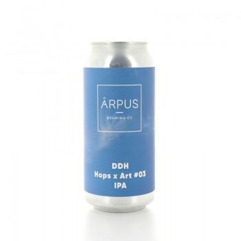 Bière DDH Hops x Art 03 IPA Brasserie Arpus 44cl
