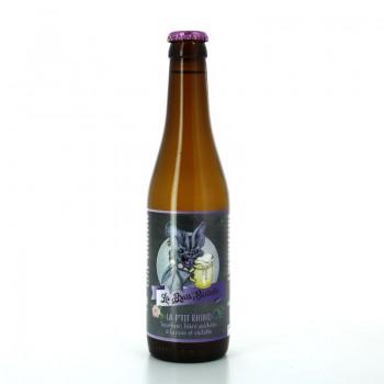 Bière Sour Acidulée La P'tit Rhino à la rose et à la violette - Brasserie la Brass'Bastelle