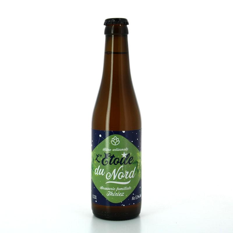 Bière Blonde Saison houblonnée et herbacée aux notes florales, L'Etoile du Nord - Brasserie Thiriez
