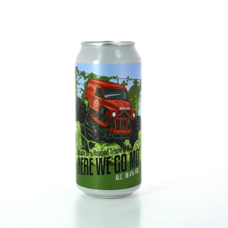 Bière Triple IPA - Here we go Mo' - Brasserie du Grand Paris