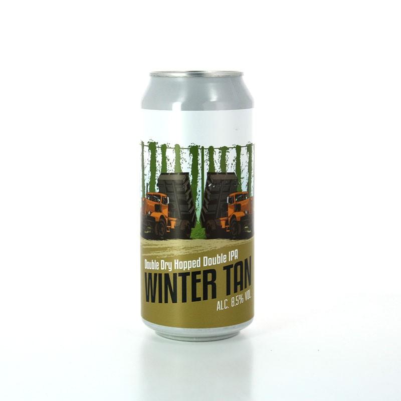 Bière DIPA aux arômes doux et fruités - Winter Tan - Brasserie du Grand Paris