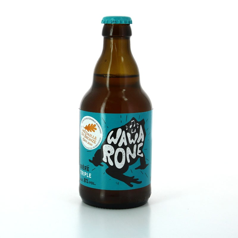 Bière Blonde Wawarone Triple - Brasserie des 3 Clochers