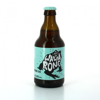 Bière Blonde Wawarone Saison - Brasserie des 3 Clochers