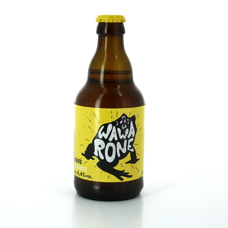 Bière Wawarone Blonde - Brasserie des 3 Clochers
