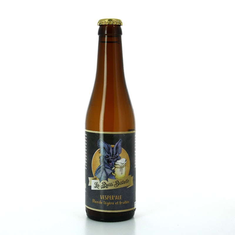 Bière Vesper'Ale Bio - Brasserie de la Brass'Bastelle, Volx
