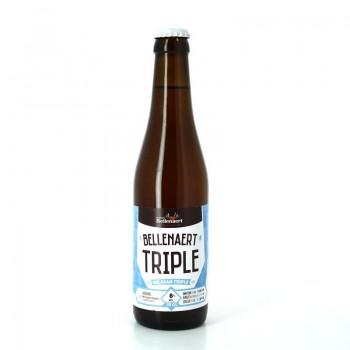 Bière Bellenaert Triple aux arômes herbacés - Brasserie Bellenaert