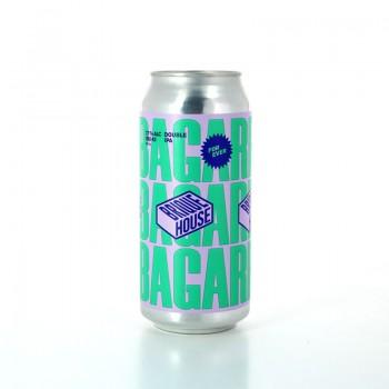 Bière La Bagarre Blonde Double IPA aux arômes de fruits tropicaux - Brasserie Brique House