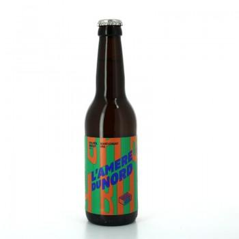 Bière blonde artisanale l'Amère du Nord East Coast IPA - Brasserie Brique House
