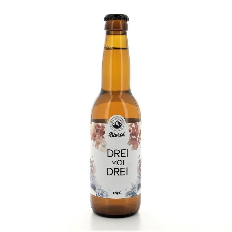 Bière triple Drei moi Dreil Bierol 9% 33cl
