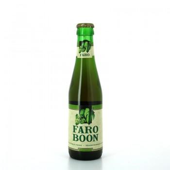 Bière Ambrée Lambic Faro Boon 33cl - Brasserie Boon