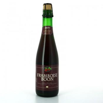 Bière Rouge Framboise Boon Lambic en 37.5 cl brassées avec des framboises fraîches - Brasserie Belge Boon