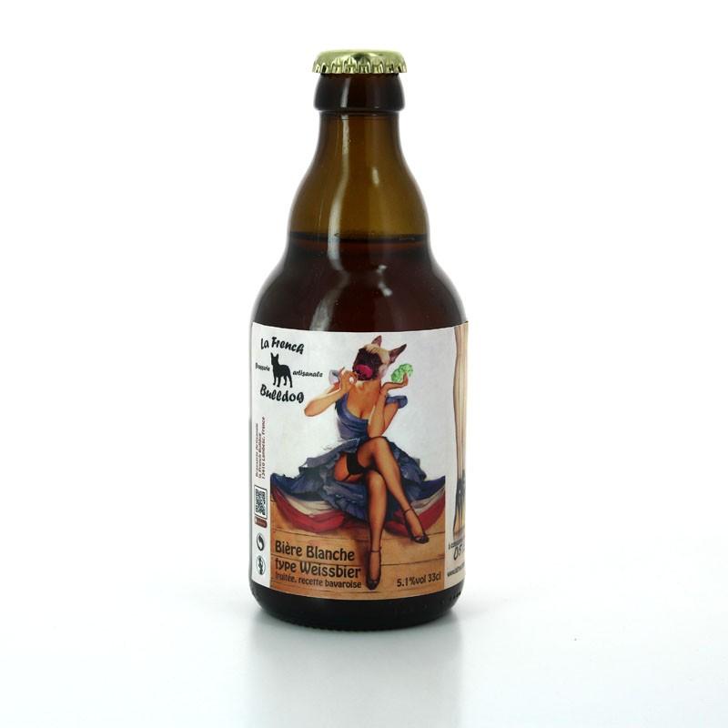 Bière Blanche aux arômes fruité - Brasserie Artisanale La French Bulldog