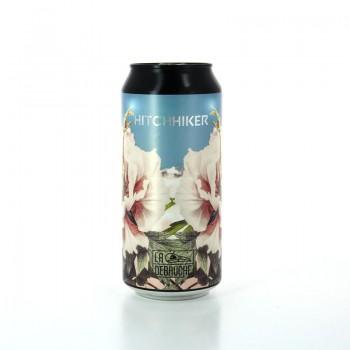 Bière Saison Hitchhiker aux arômes fruités et floraux - Brasserie Artisanale La Débauche