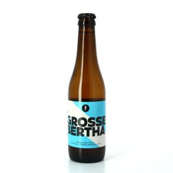Bière de blé Grosse Bertha aux arômes de banane et de clou de girofle - Brasserie Brussels Beer Project