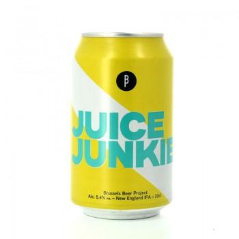 Bière NEIPA Juice Junkie aux arômes fruités - Brasserie Brussels Beer Project