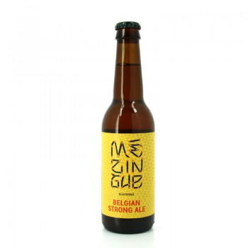 Bière Blonde série Mézingue Belgian Strong Ale - Brasserie La Baroude, Aix-en-Provence