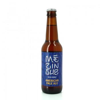 Bière Blonde série Mézingue American Pale Ale - Brasserie artisanale La Baroude, Aix-en-Provence