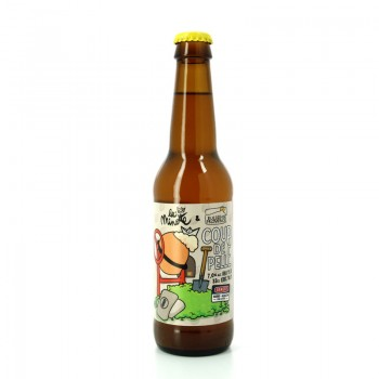 Bière NEIPA Coup de Pelle très houblonnée - Brasseries Artisanales Bulles de Provence et La Minotte