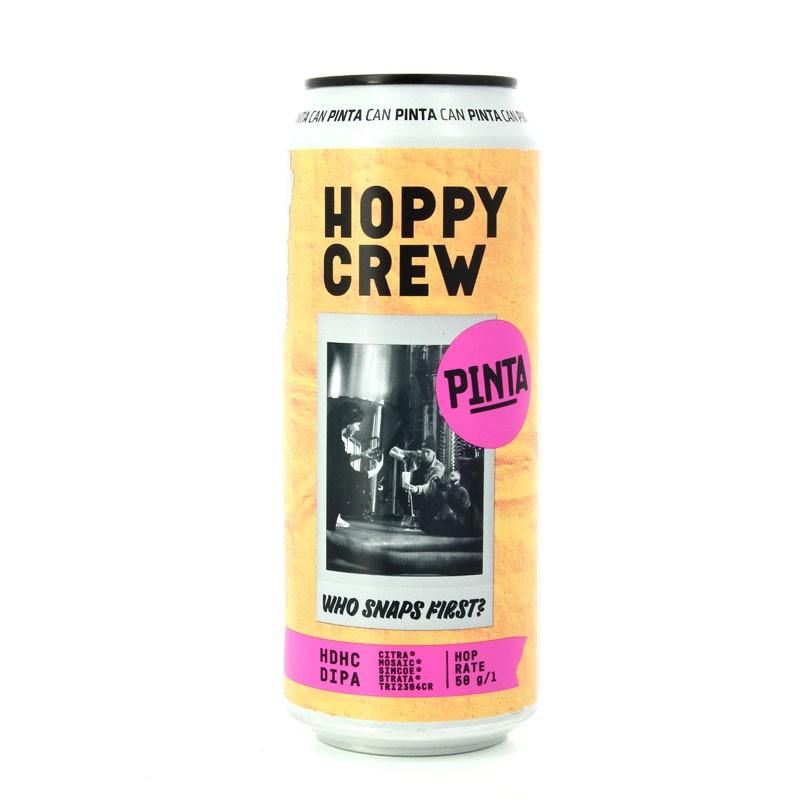 Bière Hoppy Crew, Who snaps first?, très houblonnée aux arômes fruités - Brasserie Artisanale PINTA