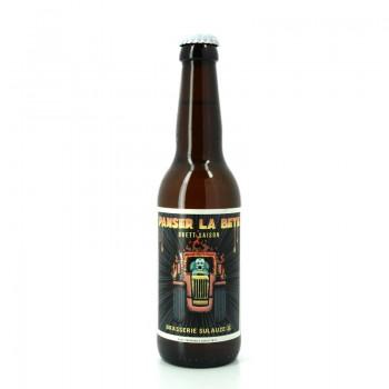 Bière artisanale et BIO aux arômes de fruits blancs vieillie en fût de vin rouge - Brasserie Artisanale Sulauze