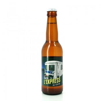 Bière Pale Ale L'Express - Brasserie Artisanale du Grand Paris
