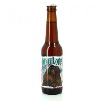 Bière Red Rye IPA King Louie - Brasserie Artisanale ZooBrew, Brasserie Animale
