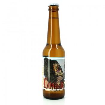 Bière Condor de style American Pale Ale - Brasserie Artisanale (& Animale) ZooBrew