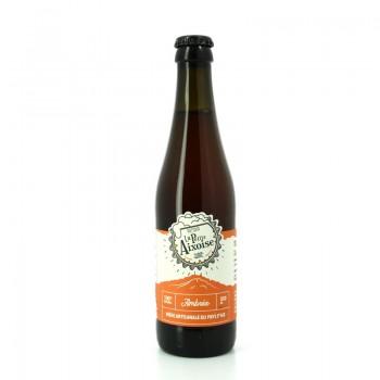 Bière Ambrée artisanale sans additifs, 100% naturelle - Brasserie Artisanale La Petite Aixoise