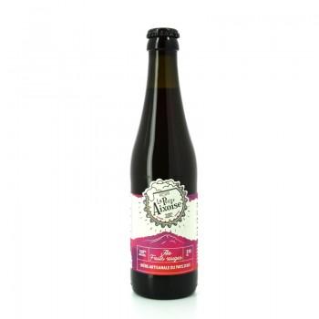 Bière Ale Fruits Rouges 100% naturelle, sans additifs - Brasserie Artisanale La Petite Aixoise