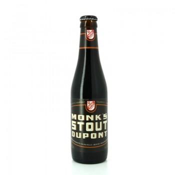 Bière Monk's Stout aux arômes de café et de chocolat - Brasserie Artisanale Dupont