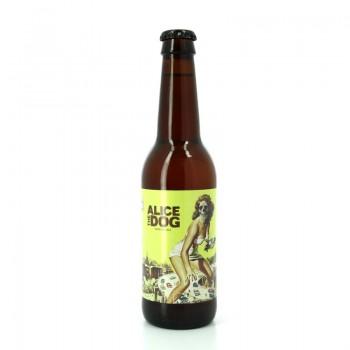 Bière artisanale IPA Alice The Dog - Brasserie La Calavera
