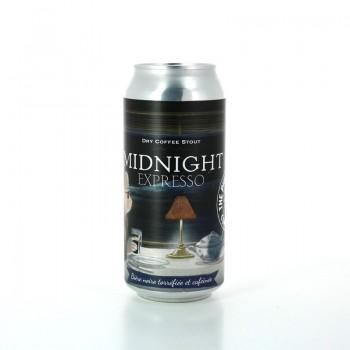 Bière Noire Midnight Expresso aux arômes très torréfiés - The Piggy Brewing Company