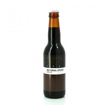 Bière Noire Santa Cruz Serie : Imperial Stout Cacao - Brasserie Artisanale Sainte-Cru