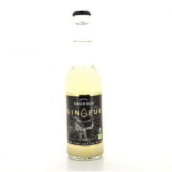 Ginger Beer bio sans alcool Gingeur 33cl